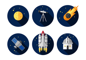 Vector Outer Space - vector #360915 gratis