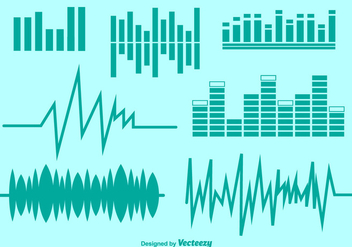 Vector Audio Symbols Set - vector gratuit #361065