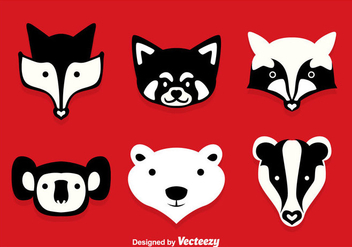 Forest Animal Vector Sets - Kostenloses vector #361285
