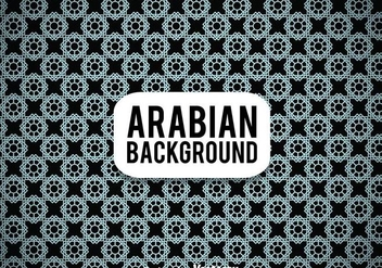 Arabian Black Background - vector gratuit #361375