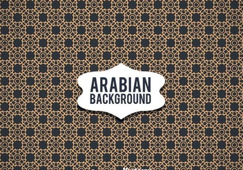Arabian Ornament Background - Free vector #361405