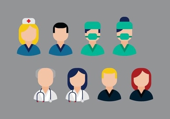 Free Medical Occupations Vector - бесплатный vector #361555