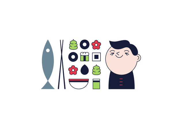 Free Sushi Vector - Free vector #361625