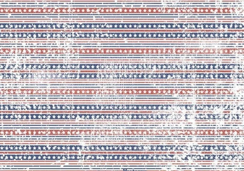 Stars and Stripes Grunge Background - Kostenloses vector #361805