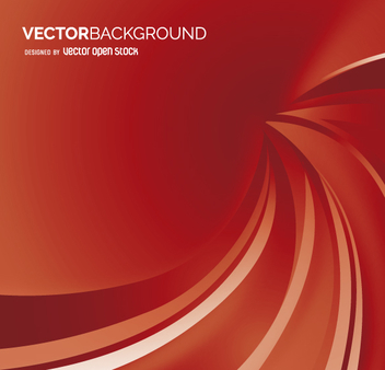 Red backdrop with abstract waves - Kostenloses vector #361995