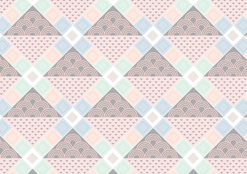 Diamond Shape Pattern - Free vector #362405