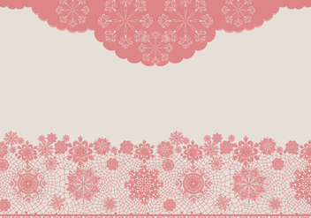 Vector Lace Texture Pink - Free vector #362415