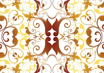 Autumn Seamless Floral Pattern Vector - бесплатный vector #362555