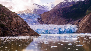 Sawyer Glacier - Alaska (Earth Tone) - бесплатный image #362575