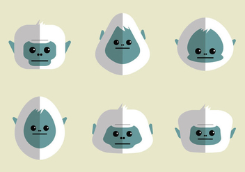 Free Yeti Vector Illustration - бесплатный vector #362595