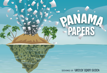 Panama Papers vector design - Free vector #362975