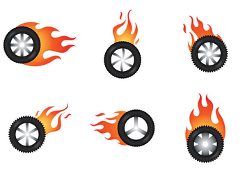 Free Burnout Vector Illustration - Free vector #363115
