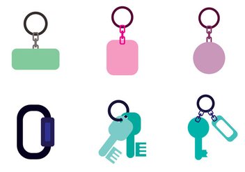 Key Holder Vector - vector gratuit #363185