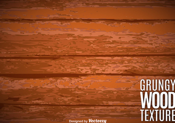 Vector Aged Wood Texture - Free vector #363195