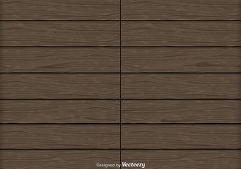 Vector Wood Planks Background - vector gratuit #363425