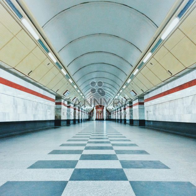 Interior of subway station - бесплатный image #363675