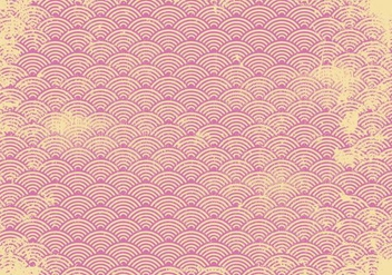 Pink Retro Grunge Background - vector gratuit #364115