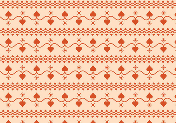 Hearts Vector Pattern - Free vector #364535