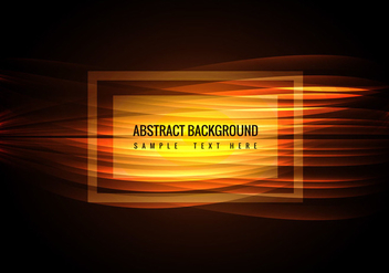 Free Vector Glowing Wave background - Kostenloses vector #364715
