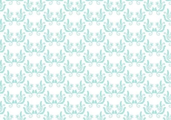 Free Vector Floral Toile Background - Free vector #364885
