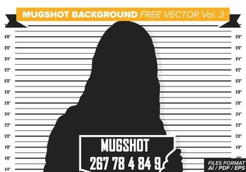 Mugshot Background Free Vector Vol. 3 - vector gratuit #364925