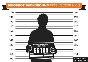 Mugshot Background Free Vector Vol. 2 - vector gratuit #364945