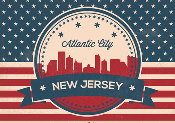 Atlantic Skyline Vector Illustration - Kostenloses vector #364975