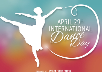 International Dance Day - Kostenloses vector #365185