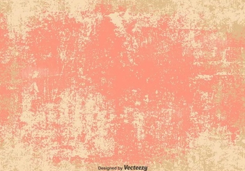 Vector Grunge Pink/Beige Background - vector gratuit #365275