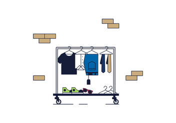 Free Clothes Vector - бесплатный vector #365865