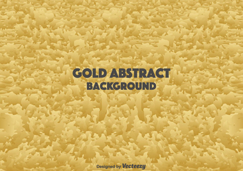 Gold Abstract Background - vector gratuit #366125