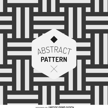 Abstract stripes pattern - vector gratuit #366335