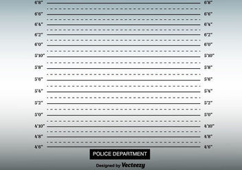 Mugshot Background Vector - vector #366425 gratis