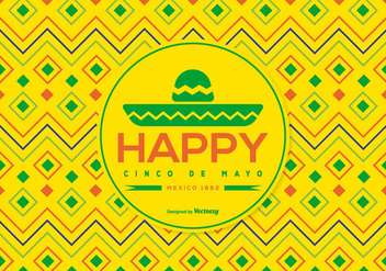 Cinco de Mayo Background Vector - бесплатный vector #366515