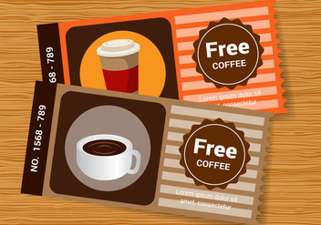 Free Coffee Sleeve Vector - vector gratuit #366595