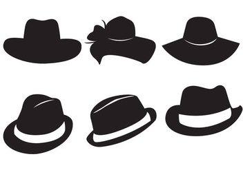 Free Hats Vector - Free vector #366625