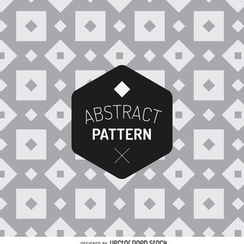 Abstract geometric pattern - vector gratuit #366645