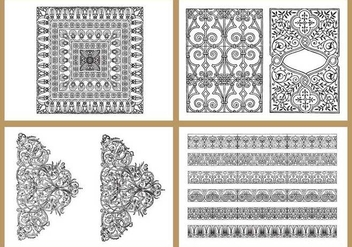 Classic Coloring Pages - Free vector #366985