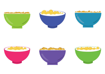 Free Corn Flakes Illustrations - vector gratuit #367195