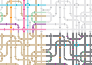 Sewer Pipe Patterns - vector #367235 gratis
