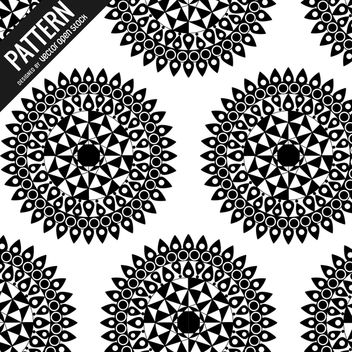 Mandala pattern background - Kostenloses vector #367555