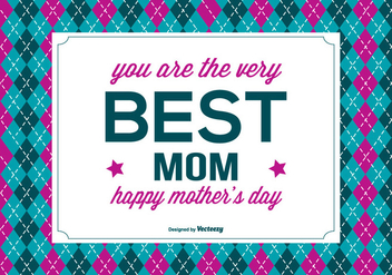 Happy Mother's Day Illustration - vector gratuit #367715