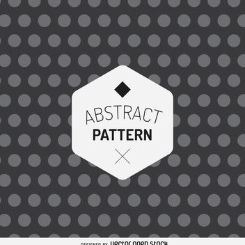 Abstract dot pattern - vector gratuit #367915