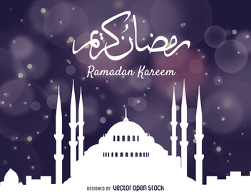 Ramadan Kareem background - Kostenloses vector #367925