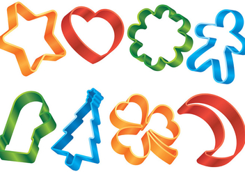 Free Cookie Cutter Vector - vector #368215 gratis