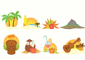 Free Hawaii Vector - Free vector #368315