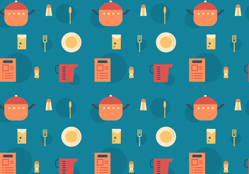 Free Recipe Card Vector Pattern - Free vector #368325