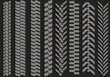 Tire Marks Vectors - бесплатный vector #368395