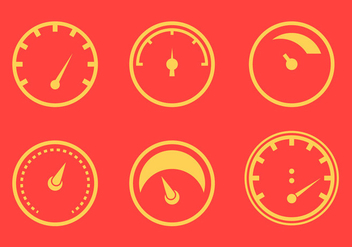 Free Tachometer Vector Graphic 1 - бесплатный vector #368705