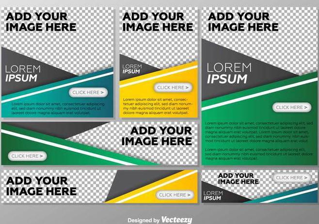 Vector Option Templates Step Banners - Free vector #368765